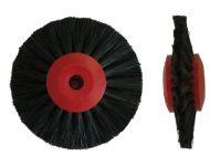 SPAZZOLA 60 mm CONVERGENTE CENTRO PLASTICA ROSSO